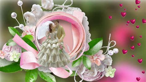 happy wedding day  wishes   bride groom  ecard  youtube