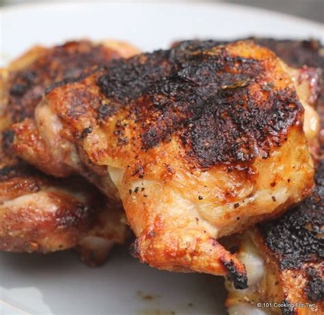 chicken thighs easy grilled chicken thighs 101 cooking for two