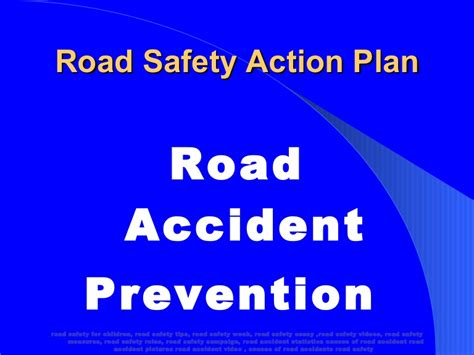 Road Accident Prevention Powerpoint Presentation With Photos