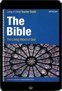 Living In Christ Series  The Bible  1st Ed  Ebook  1 Year