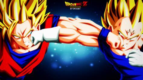 Majin L Vs Goku by Z Favourites By Darkuchihasharingan On Deviantart