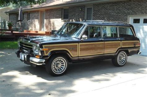1991 jeep wagoneer interior find used 1991 jeep grand wagoneer final edition no
