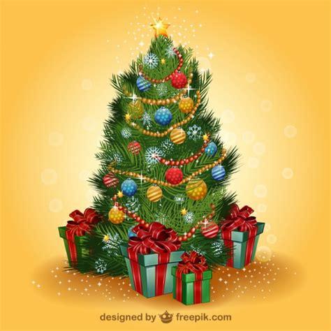 realistisch weihnachtsbaum vektor download der