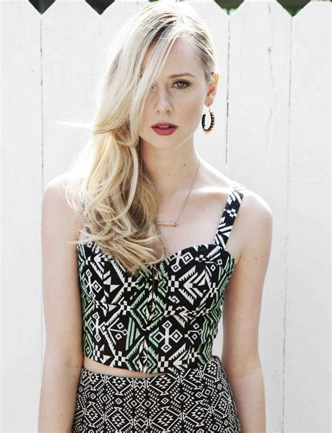Diana Vickers Playing A Blonde Airhead Was Easy For Sky