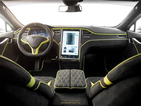 Tesla Model S Gets The Neidfaktor Interior It Deserves