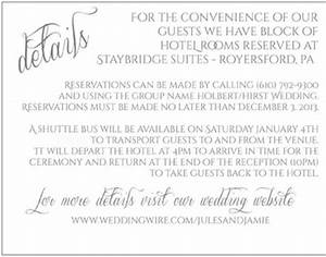 hotel block with shuttle option weddings planning With wedding invitations transportation wording