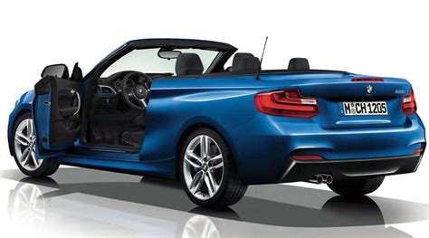 Bmw 2 Series Convertible With M Sport Package Revealed