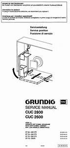 Grundig Cuc2600 2800 Service Manual Download  Schematics