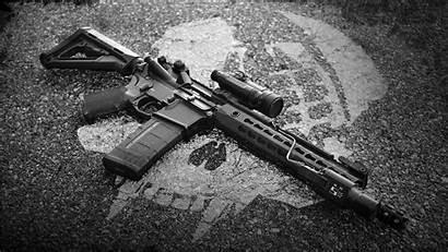 Rifle Background M4 Assault Automatic Semi Weapon
