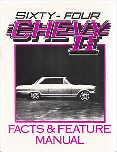 1964 Chevy Ii  U0026 Nova Repair Shop Manual Reprint Supplement