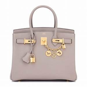 Hermes Birkin Bag 30cm Gris Asphalte Togo Gold Hardware ...  Hermes