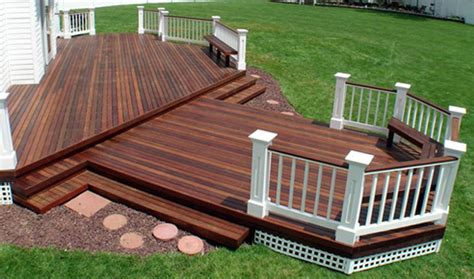 painting versus staining your deck kcnp