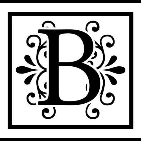 letter  monogram monogram stencil  monogram letter stencils