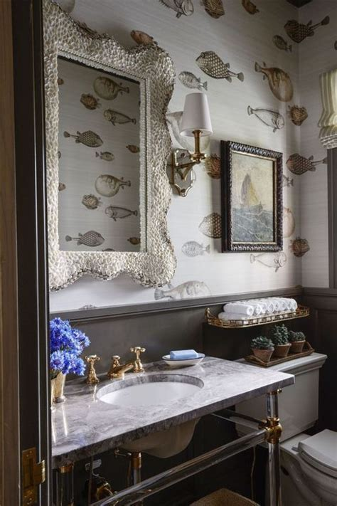 bathroom wallpaper ideas  beautiful bathroom wall coverings