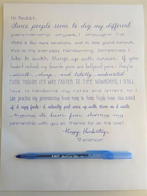 25+ Best Ideas About Handwriting Styles On Pinterest  Lettering Styles, Writing Styles And