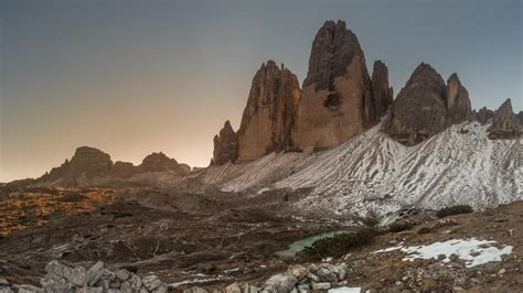 Tre Cime Di Lavaredo Dolomites Wallpaper Backiee