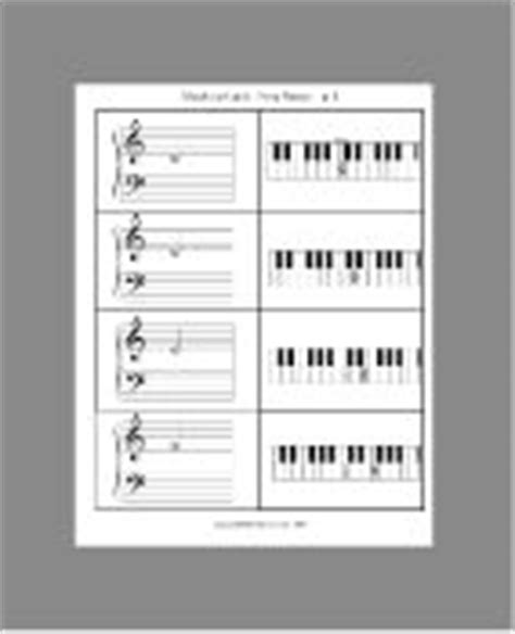 teaching piano worksheets images