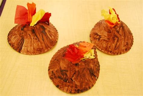 volcano crafts for preschoolers volcanoes and earthquakes on teachers pet 765