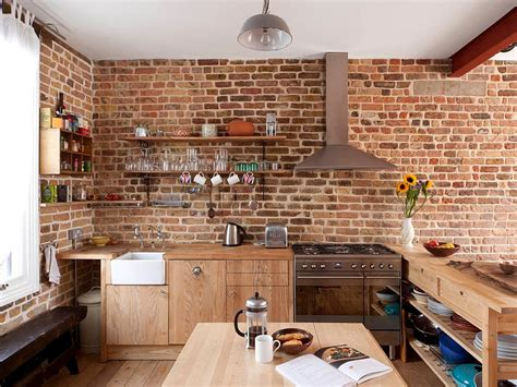 hotte de cuisine home depot 50 trendy and timeless kitchens with beautiful brick walls