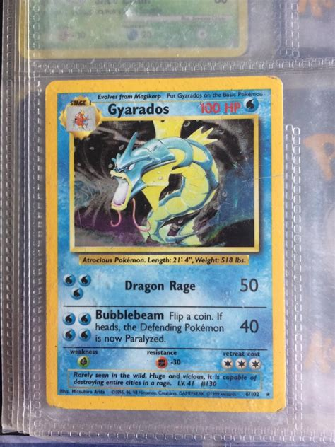 We stock everything you need to build a great pokemon booster boxes, packs, decks, single cards, tins, and much more are always in stock at dave and adam's. Rare gyarados Pokemon card in LE2 Leicester for £10.00 for ...