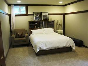 6 basement bedroom ideas to create perfect basement With basement sofa bed