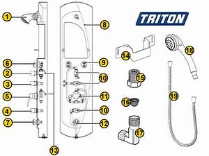 Shower Spares For Triton Shower Tower
