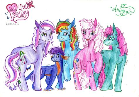 Mlp Characters My Little Pony Main Characters
