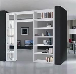 cloison de separation decorative pour sublimer lespace With meuble separation de pieces design
