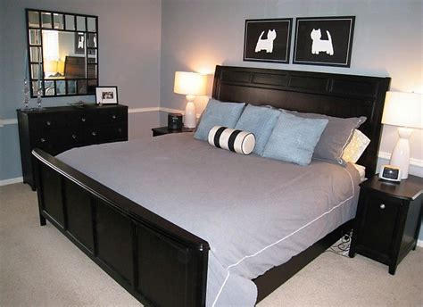 Bedroom Decorating Ideas Black Furniture by Black Bedroom Furniture Via Decorating Obsessed