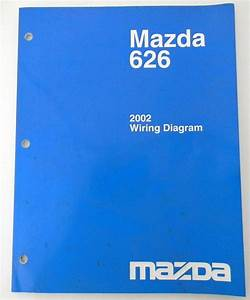 2002 Mazda 626 Wiring Diagram Service New Original Car