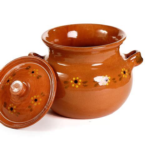 Mexican Pot by Mexican Bean Pot Ancient Cookware