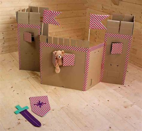 Kleinen Karton Basteln by Burg Basteln Aus Karton Dansenfeesten