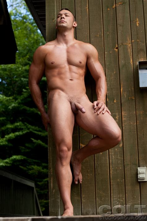 nude muscle hunk john sebsatian in different position