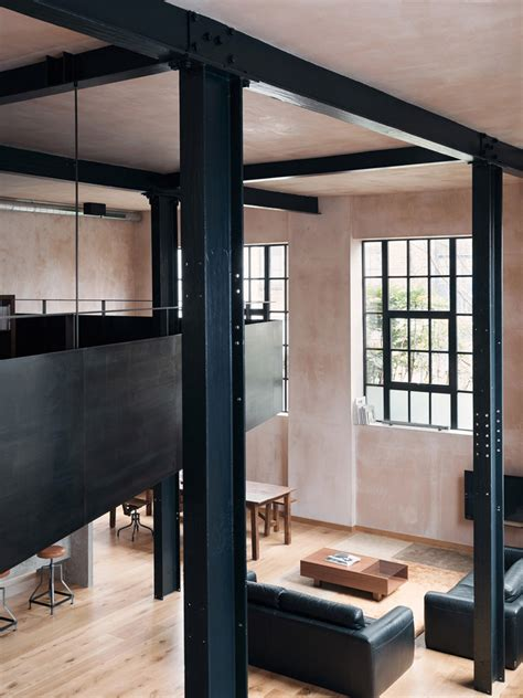 london warehouse conversion  sadie snelson architects