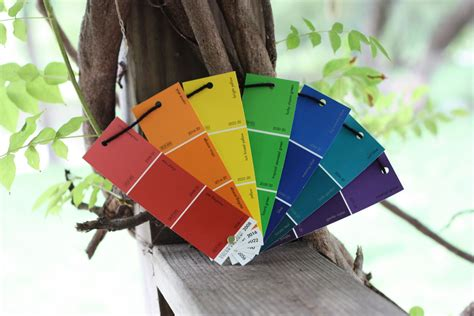 paint sle rainbow fan i can teach my child
