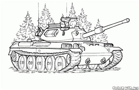 coloring page japanese tank