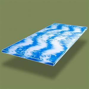 Gel Topper 200x200 : gelschaum topper hydroblu gel matratzenauflage rg40kg m 140x200 cm mein schlafcenter online ~ Indierocktalk.com Haus und Dekorationen