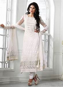 salwar kameez collection in white color - Adworks.Pk ...