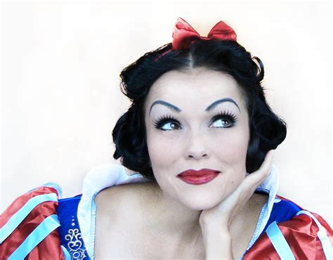 makeup for hair disney snow white make up and hair tutorial ct esthetic