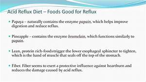 6 Month Diet Chart Acid Reflux Diet Plan Best Foods To Avoid And Those To