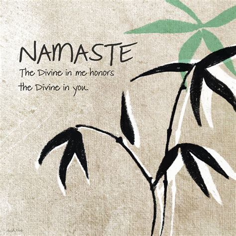 acrylic wall pictures namaste painting by woods