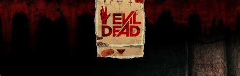 evil dead remake  interactive homepage