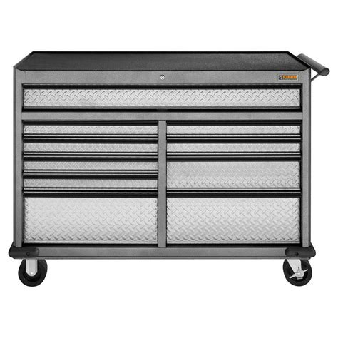 gladiator tool chest combo tools 56 in 11 drawer standard roller cabinet