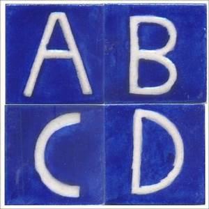 ceramic alphabet tiles knobco With ceramic tile alphabet letters