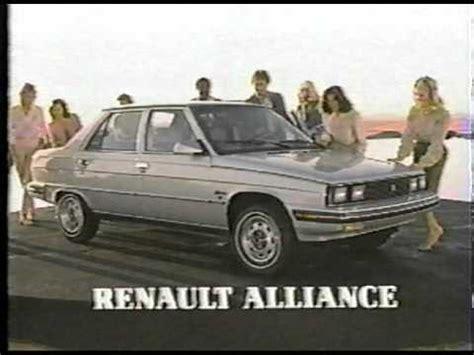 1984 renault alliance 1984 renault alliance youtube