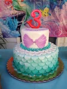 Little Mermaid Birthday Cake Decorations