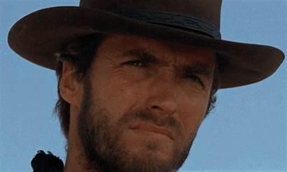Eastwood Clint Cowboy Dollars Fistful Gifs Western