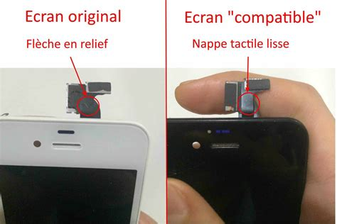 nappe tactile iphone 4 fleche nappe tactile iphone 4 4s repar smartphone