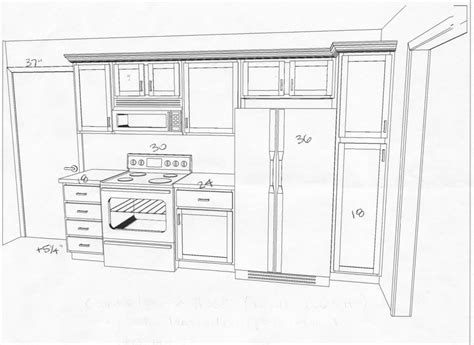 one wall kitchen floor plans ? 2018 House Plans