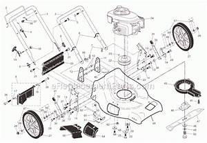 Husqvarna Self Propelled Lawn Mower Parts Diagram